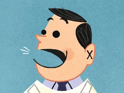 Michael Scott houdini steve carell editorial illustration the office michael scott