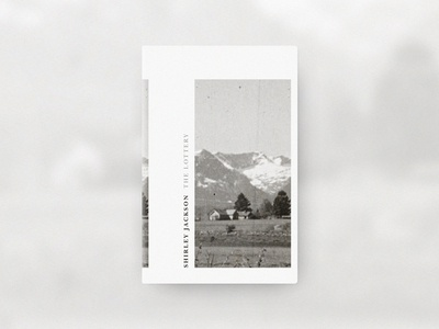 The Lottery Cover Design