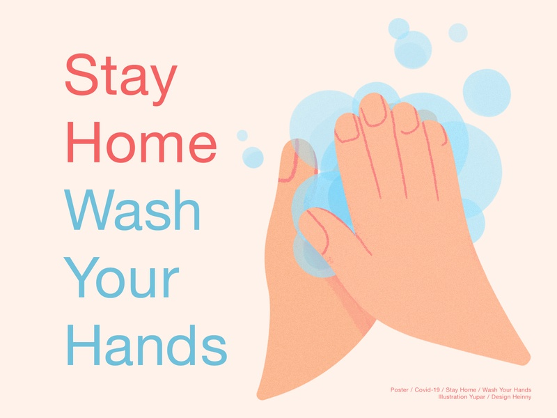 Stay Home Wash Your Hands
