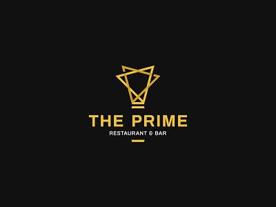 The Prime Restaurant & Bar Logo heinny creative pixellion branding logo