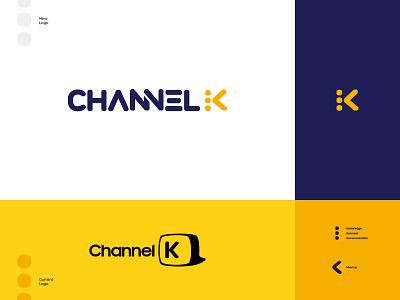 Channel K Logo channel k tv channel re-branding logo