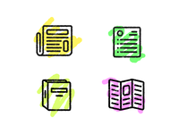 Distressed Icons