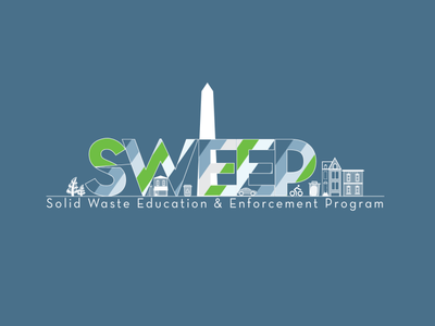 SWEEP Logo Illustration vector logo identity branding illustration
