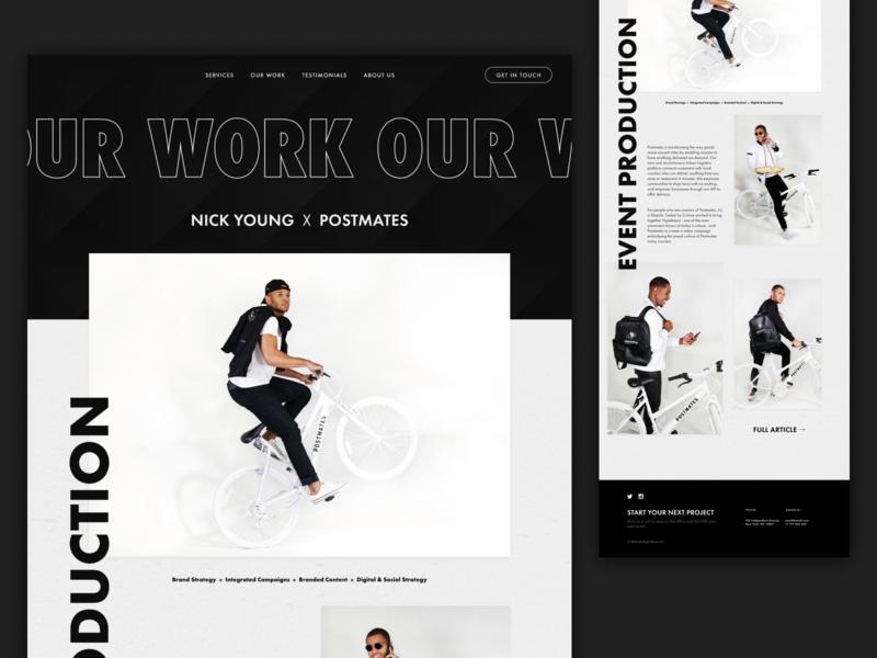 Our Work - Desktop