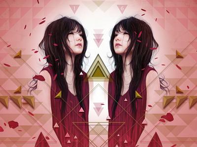 Gemini illustration wacom art digital illustration