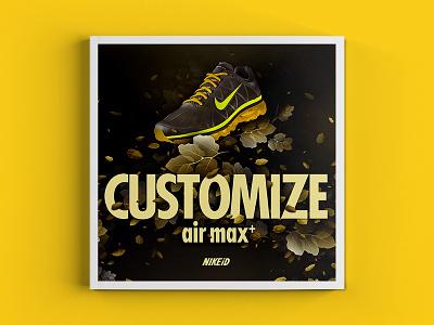 Nike Airmax+ graphic design illustration print ad