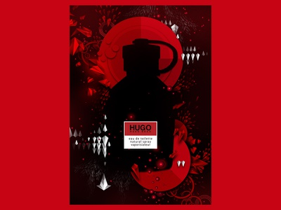Hugo Boss Create graphic design illustration print