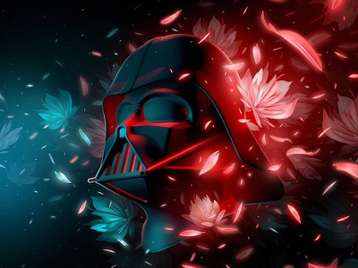 Vader darth vader design digital art illustration starwars