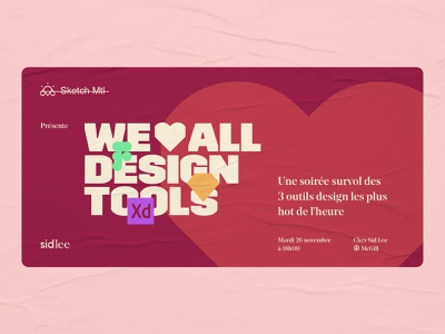 Montréal Interactive - We ❤️ all design tools marketing adobexd figma sketchapp design community community collaboration montréal conference event brand branding