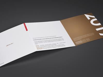 Böttcher Einladung - Brochure design