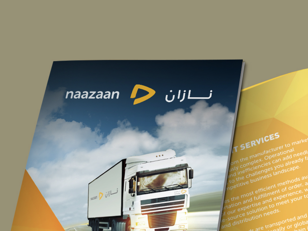 Multi-Lingual Identity for Naazaan logo branding identity