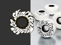 SK8DLX SKATEBOARD CO. - SWIRL WHEEL