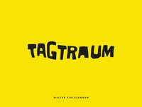 TAGTRAUM - COVER ZINE DESIGN
