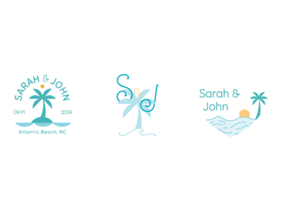 Wedding Logo Comps