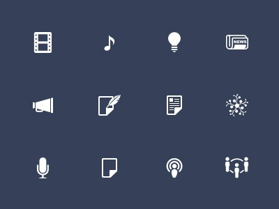 Icons smaller