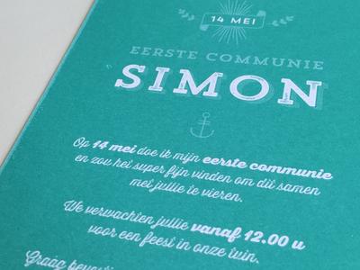 Simon print trend rough card pantone 326c thirsty rough