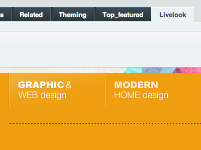 NSM Live Look nsm live look livelook expressionengine ee2 yellow tabs cms