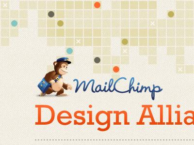 bricks x dots mailchimp newsletter dots dashes bricks circles orange rockwell texture ocher