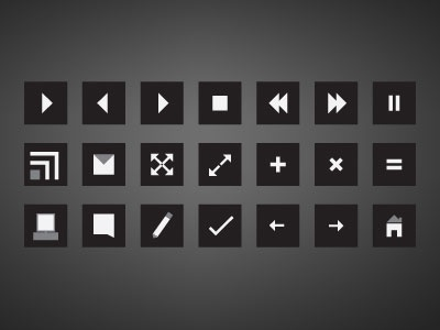 Squared - icon/buttons-preview