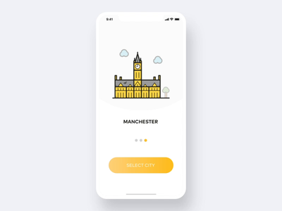 Travel App animation after effects animation ae uid onboarding city travel app travel