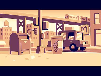 Jackson Heights background vector