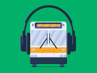Google Play Music - Morning Commute Playlist music vector illustration google