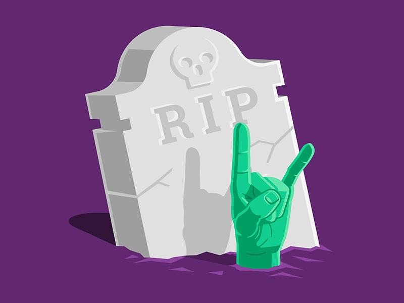 rocker zombi final dribbble