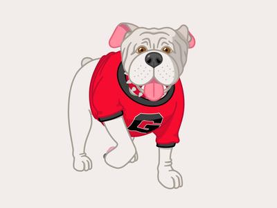 Bulldog Dribbble