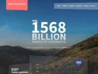 Open contracting nepal homepage