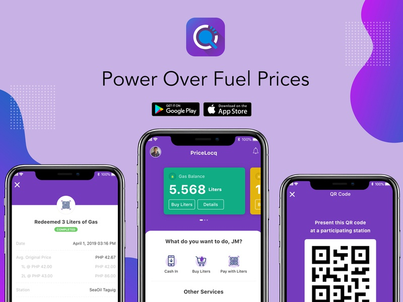 Buy Fuel App user inteface mobile app ux ui app design app