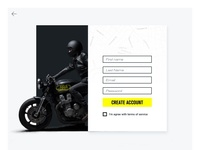 Mash UK - Custom Cafe Racer  Sign Up