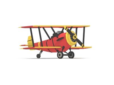 Lowpoly Plane