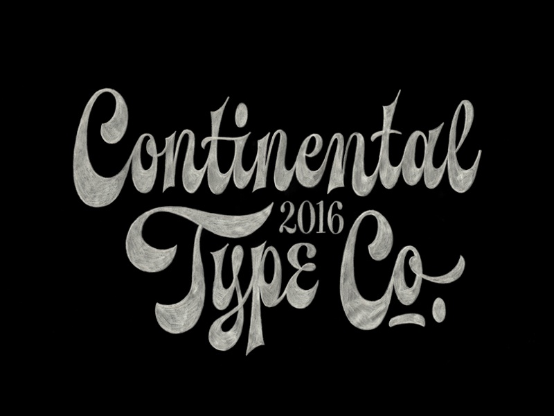Spencerian Lettering  continental script spencerian typography lettering type