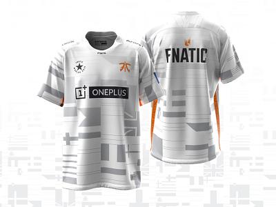 Worlds League of Legends Fnatic Jersey gamer gaming apparel design apparel esports design art flat 2d graphic design illustration