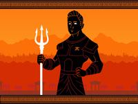 Rekkles God gamer gaming esports vector design art flat 2d graphic design illustration
