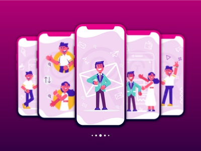 Candy Pay e money connection people candy candy pay design app illustration app ux ui motion illustration