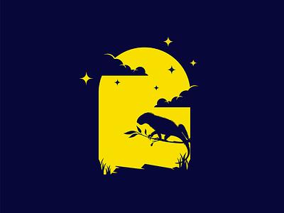 Lizard night mongolia illustrator flat illustration dribbble best shot dribbble character animals t animal illustration l animal ar anima 2d