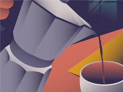 Coffee flat 2d vector coffee coffee illustration landscape illustration coffee shop landscape room room illustration dribbble best shot dribbble