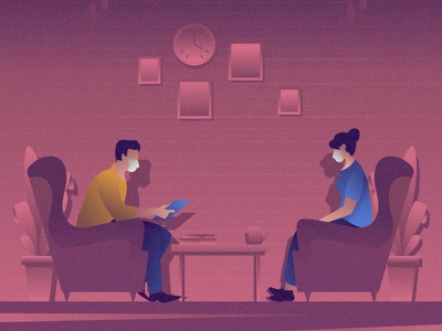 Job meeting flat 2d vector lifestyle life illustration landscape illustration hobby landscape world lifestyle illustration dribbble best shot dribbble