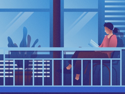 Reading flat 2d vector lifestyle life illustration landscape illustration hobby landscape world lifestyle illustration dribbble best shot dribbble