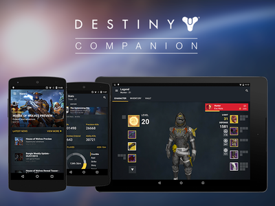 Destiny Companion Android Update