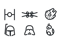 Updated Star Wars Minimal Icons