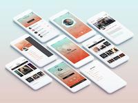 Mobile interface Rebranding