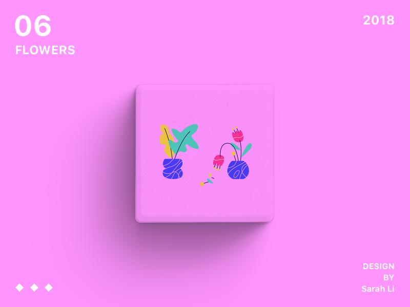 Flowers plant flower illustration design