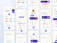 task management app exploration typogaphy grids userinterface web ux ui visual trending to do list task management layout ios saas app interface exploration concept clean application app