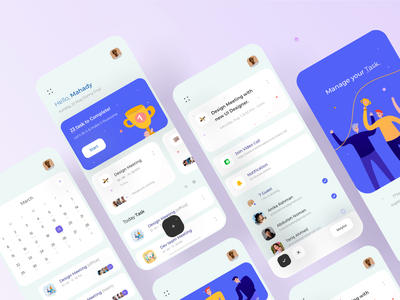Team Management app v2 saas app illustraion to do list ios trending ux layout team management task manager task task management calendar interface visual clean minimal userinterface explorer ui app