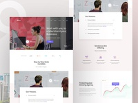 Creative Agency web exploration V3