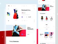 Phrk minimal e-commerce web Exploration