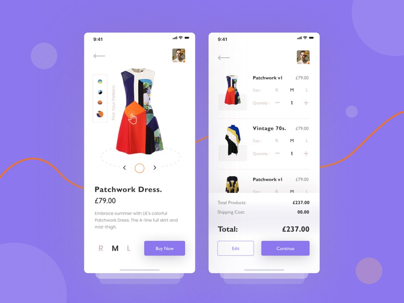 E-commerce product details+listing exploration. pattern cart web uinugget ux visual ios minimal userinterface application ui listing product trending fashion shop ecommerce exploration concept app