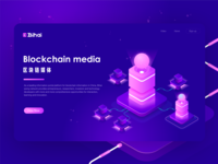 Blockchain Media Website